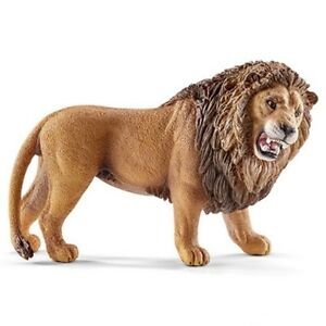 Lion- Roaring 14726 Strong Fort Looking Schleich Anywhere's Aire < tJAvbsEj-09104003-340861509