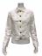 Isaac-Mizrahi-Women-039-s-TRUE-DENIM-Button-Front-Jean-Jacket-White-Size-10 thumbnail 1