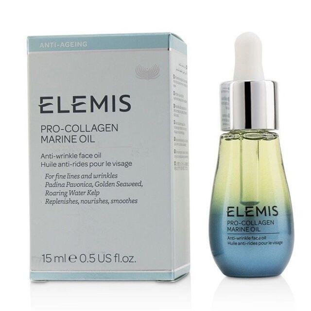 Elemis Pro Collagen Marine Oil 0.5 oz / 15 ml Exptn Date 2021 Sealed New Box