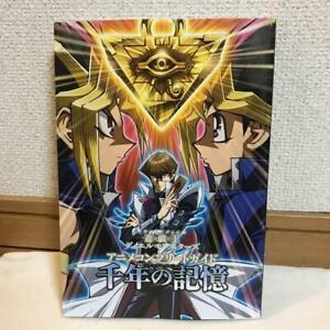 Yugioh-Anime-Complete-Guide-Artbook-Art-Guidebook-Book