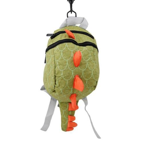 Cartoon Baby Toddler Kids Dinosaur Safety Harness Strap Backpack Bag With Reins