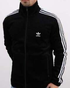 Adidas Originals Beckenbauer Track Top Black | 80s casual