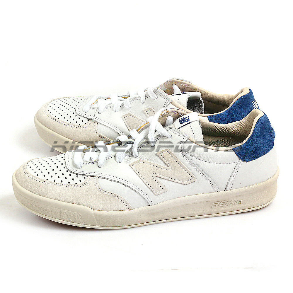 New Balance CRT300WL D White & Beige & bluee Lightweight Lifestyle shoes NB