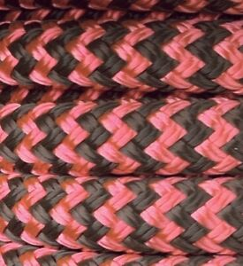 """1/"""" Double Braid~Yacht Braid Polyester Rope.Made in the USA. 1 inch x 100 ft"""
