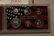 "2006 U.S. Mint Silver ""PROOF"" Set, Original Packaging/Paperwork, Free Shipping!"