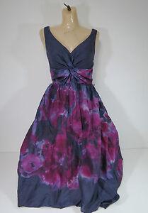 Neiman-Marcus-dress-Gray-Watercolor-Sleeveless-V-Neck-High-Low-99