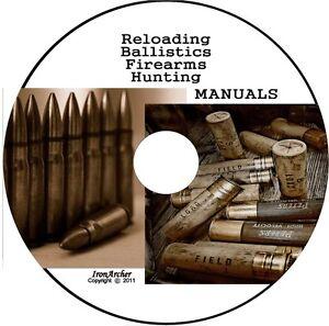 100-Reloading-1000-Firearm-Manuals-HODGON-MEC-ADI-ALLIANT-ACCURATE-VIHTAVOURI-CD