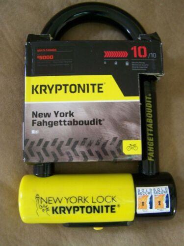 Kryptonite New York Fahgettaboudit Mini  Tool Bike lock Motorcycle with 3 keys
