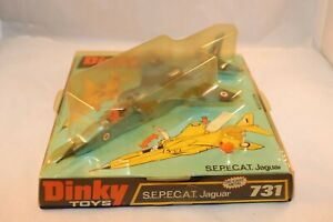 Dinky-Toys-731-S-E-P-E-C-A-T-Jaguar-mint-in-mint-box-SEE-THE-PICTURES-superb