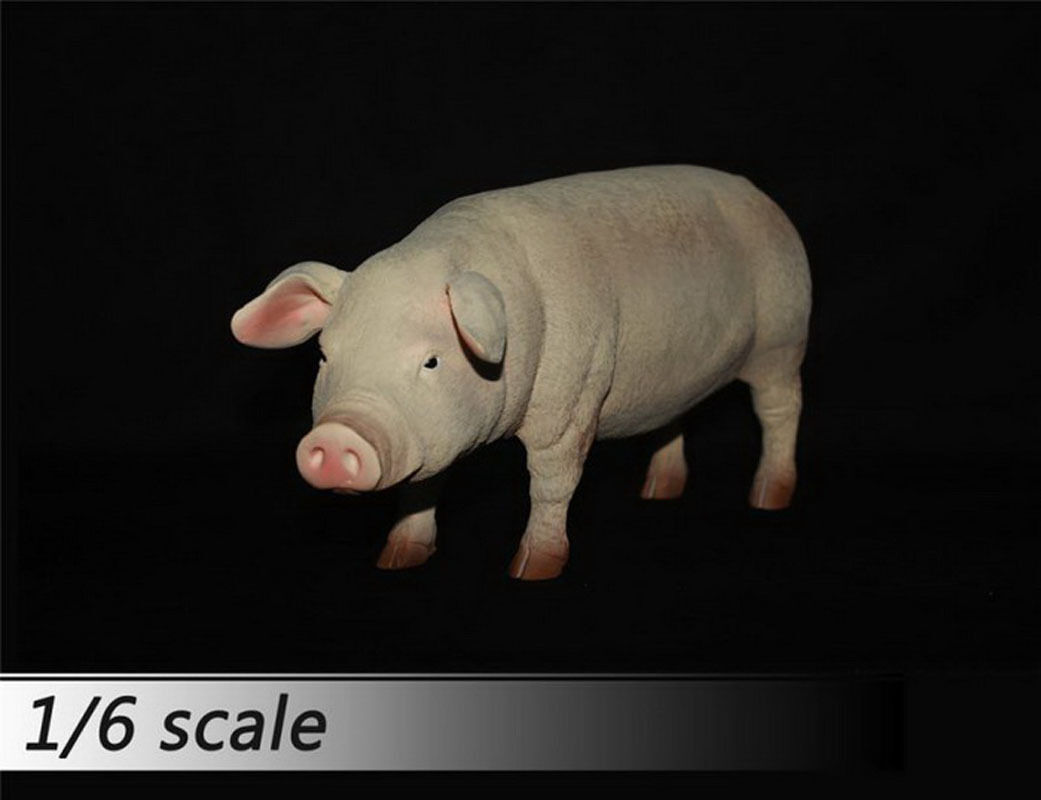 1/6 Scale Model Pet Journey to the West Prototype of Zhu Bajie Wuneng Monk Pig