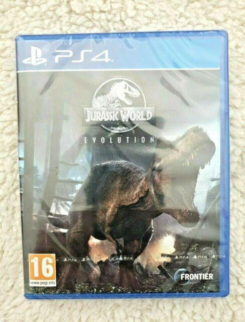 Jurassic World Evolution  Sony Playstation PS4   2018   NEW & SEALED   FREE POST