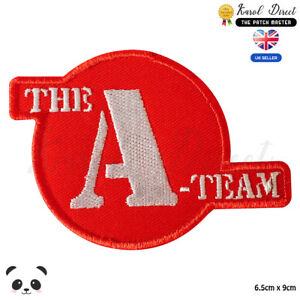 A-Team-Superhero-Movies-Embroidered-Iron-On-Sew-On-Patch-Badge-For-Clothes-etc