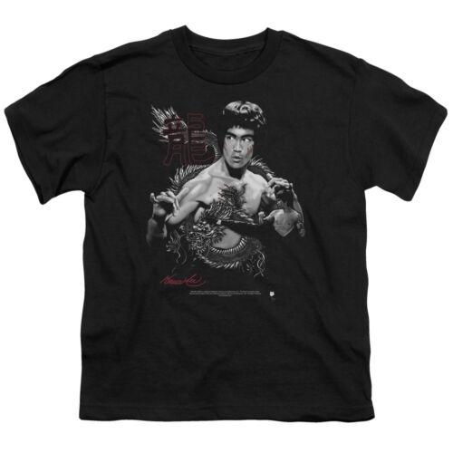 Bruce Lee THE DRAGON Licensed BOYS /& GIRLS T-Shirt S-XL