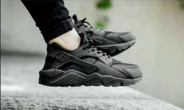 f3808062d11 Women's Nike Air Huarache Run Sz 5.5 Black 634835 009 for sale ...