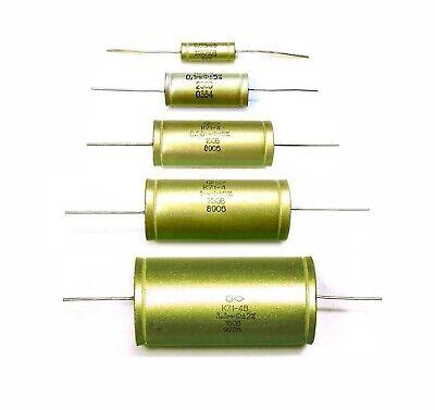 0.01uF 1uf 160V Variations Polystyrene Capacitors K71-5 Hi-End USSR NOS