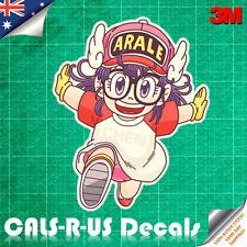 Dragon Ball Dr Slump Arale Chan Run Decal Sticker Car Luggage 3M Film. 100mm