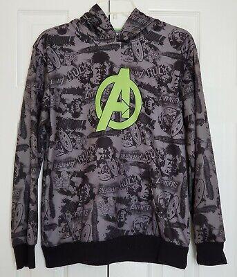 Boys Grey Sweatshirt with Avengers Heroes detail
