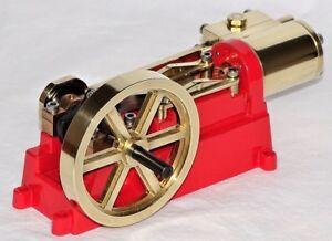 Live Steam - Kit métal entièrement usiné pour moteur modèle à broyeur à cylindre simple
