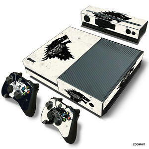 xbox one console skin decal sticker game of thrones 2 controller