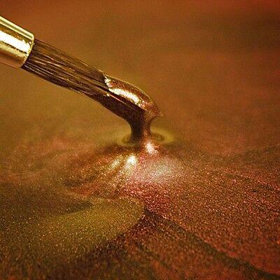 (25,80€/100ml) Rainbow Dust Metallic Farbe Dark Gold, 25 ml
