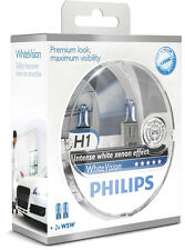 Philips whitevision h1 premium + 2 w5w bvu 12258 whvsm +++ top-precio +++ nuevo