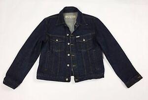 Guess-giacca-jeans-jacket-L-blu-giubbino-denim-coat-usato-vintage-man-uomo-T2200