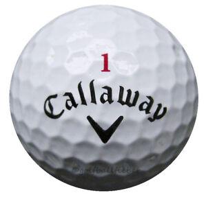 50-Callaway-Hex-Chrome-Plus-Golfbaelle-im-Netzbeutel-AA-AAAA-Lakeballs-Baelle