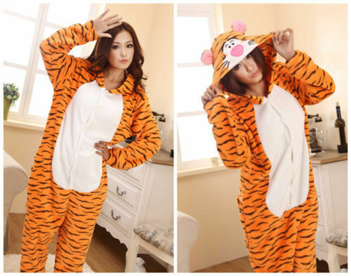 Unisex Adult Animal Onsie Kigurumi Pyjamas Fancy Dress Onesie1 Sleepwear UK