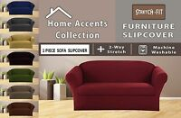 3 Seater Stretch Form Fit Elastic Sofa Cover Couch Slipcover Furniture Protector