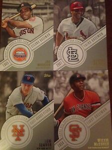 2014 Topps Series 1 Baseball All Rookie Cup Team Insert Set 10 Cards