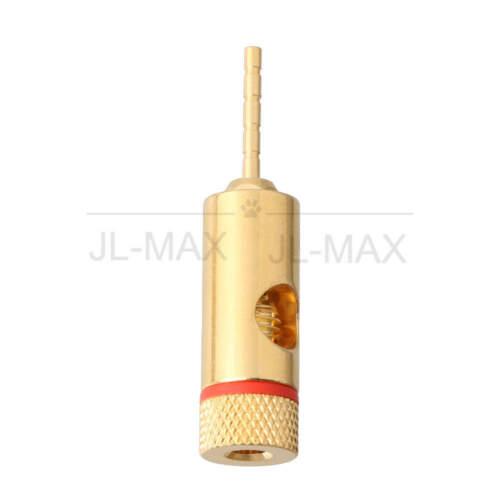 20pcs Heavy Duty Hi-Fi Audio 2mm Pin Jack Banana Plug Adapter