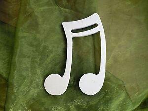 Das Bild Wird Geladen Noten Aus Sperrholz Dekoration  Basteln Tischdekoration Musiknoten Note