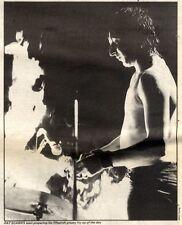 25/9/1982Pg31 Black & White Picture 9x7 Rat Scabies