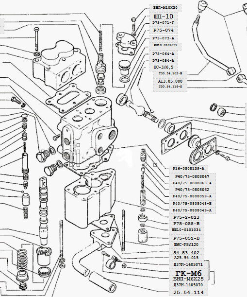 Ford 8000 Tractor Injection Pump
