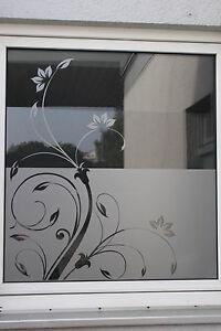 Glasdekorfolie Fensterfolie Sichtschutz Folie Milchglasfolie Retro