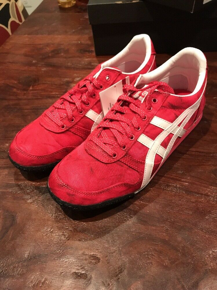 Asics Ontisuka Tiger Ultimate 81 D58BK 3701 Womens shoes Sneakers New Size 8.5