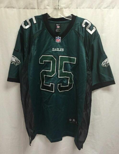 Mens Nike LeSean McCoy #25 Philadelphia Eagles Size Medium Jersey Green