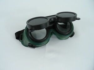 New Welding Cutting Welders Safety Goggles Glasses Flip Up Dark Green Lenses 794685323973