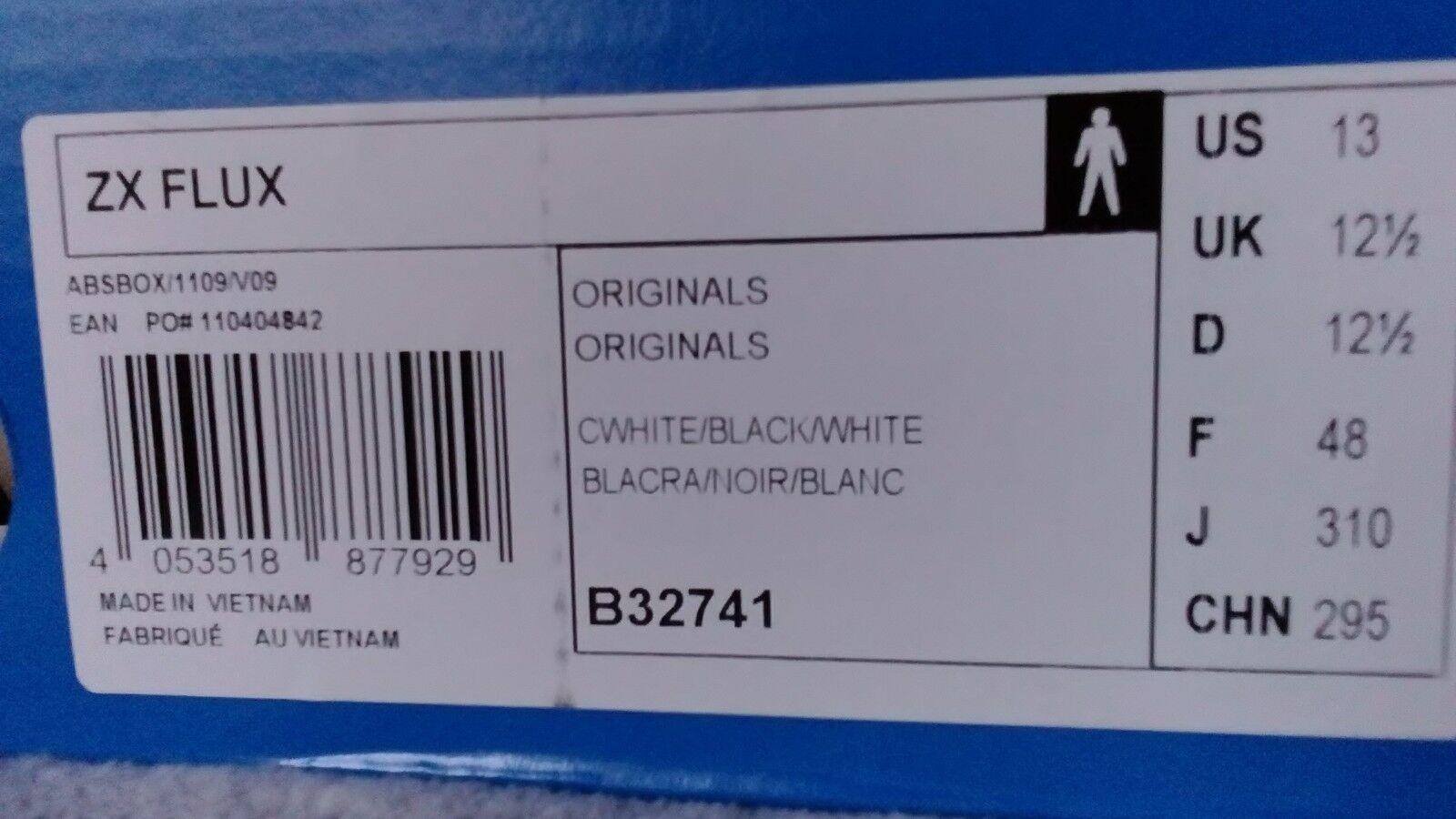 Adidas ZX FLUX άνδρΡς uk 12.5 * NEW *