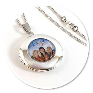 H20 **Just Add Water ** Mermaids pendant necklace Round h2o LOCKET