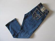 NWT Rock Revival Prater Straight in J Fleur de Lys Stretch Jeans 42 x 34