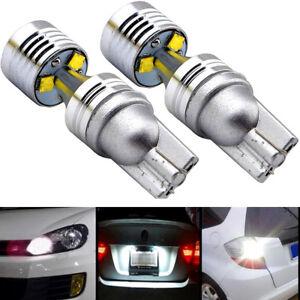 2x-T10-194-W5W-30W-LED-6-SMD-Car-HID-Canbus-Error-Free-Wedge-Light-Bulb-Lamp