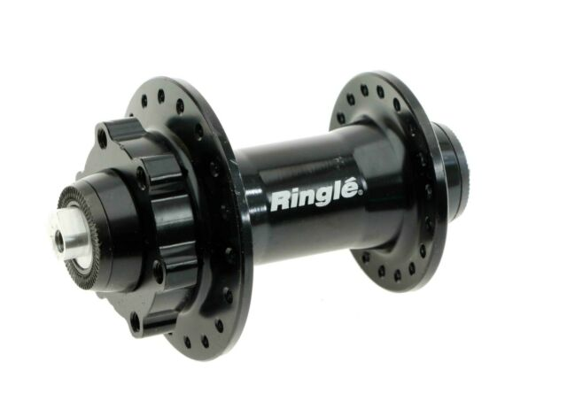 SRAM 900 Front Hub 24H 6-Bolt Disc Black with Quick Release 12x100mm and