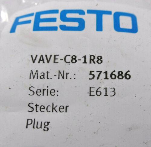 Festo VAVE-C8-1R8 571686 Stecker