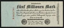 Ro.094 5 Millionen Mark 1923 (1/1-)
