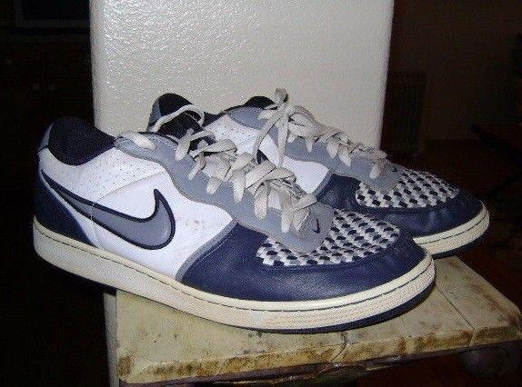 Nike annata 2007 dimensioni 13 311191-109 blu / grigio / bianco vendemmia 2007
