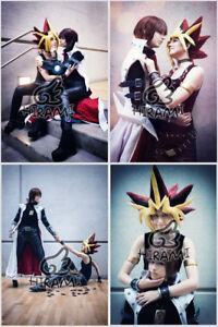 Yu-Gi-Oh-Cosplay-Prideshipping-Photo-Prints-Yami-Yugi-Atemu-Atem-Kaiba-Seto-Set