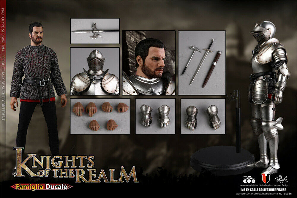 Knights Of The Realm Famigila Ducale 1 6  Scale cifra by COO 221CO01  è scontato