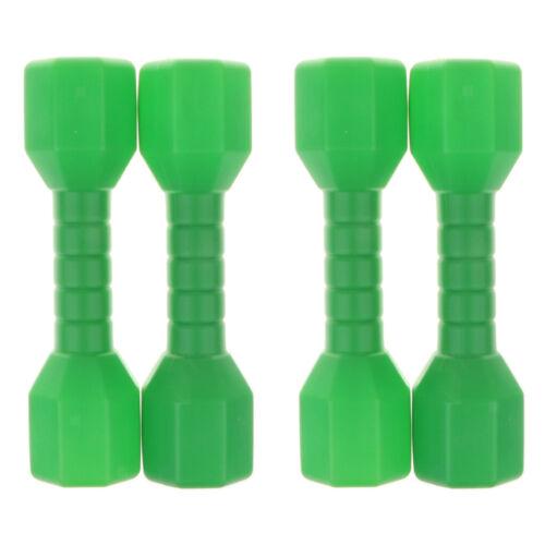 2 Paar Fitnessgeräte Hantel Gewicht Grün für Kinder Early Learning Toy