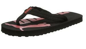 Details zu Men's Women's PUMA Flip Flops Sandals Pool Slippers Beach Shoes  Thongs - Black